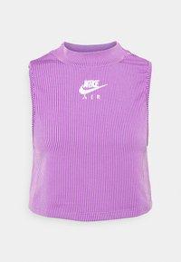 Nike Sportswear - AIR TANK  - Top - violet shock/white - 6