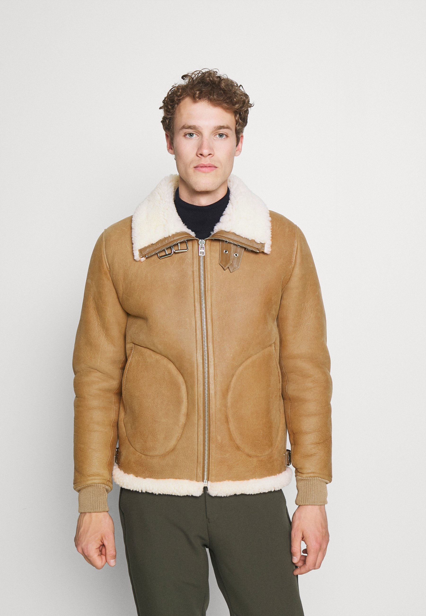 Men JACKSON JACKET - Leather jacket
