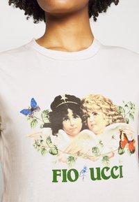 Fiorucci - WOODLAND VINTAGE ANGELS TEE  - Print T-shirt - white - 3