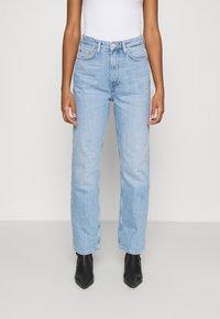 Weekday - ROWE - Jeans Straight Leg - light blue moise - 0