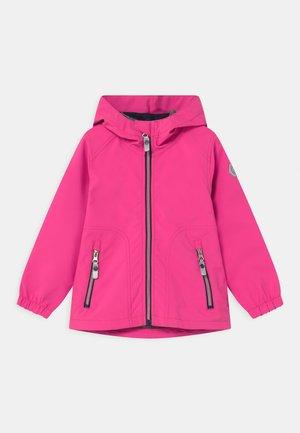 JOYLILY UNISEX - Vodotěsná bunda - neon pink
