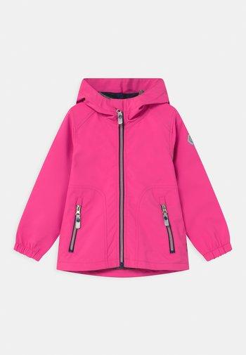 JOYLILY UNISEX - Soft shell jacket - neon pink