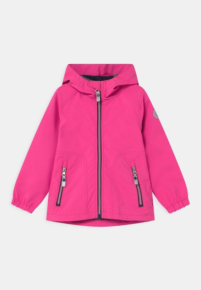 JOYLILY UNISEX - Regnjakke - neon pink
