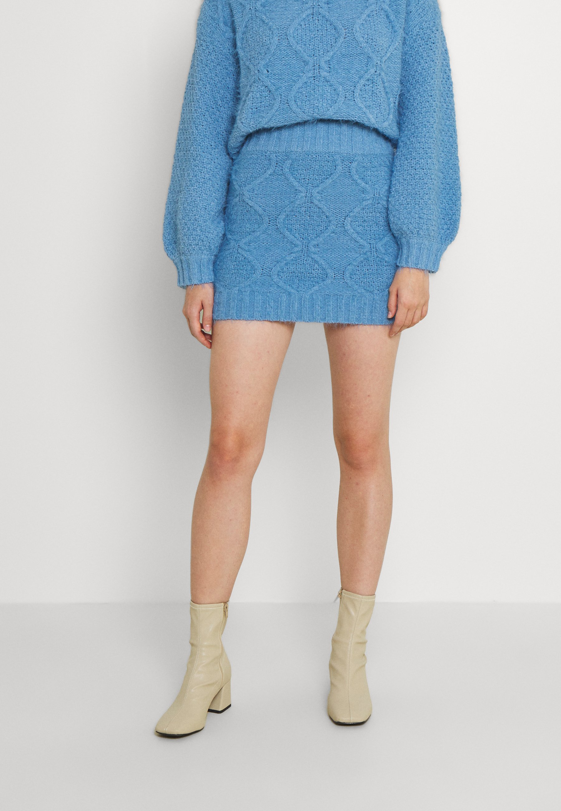 Femme CABLE SKIRT - Minijupe