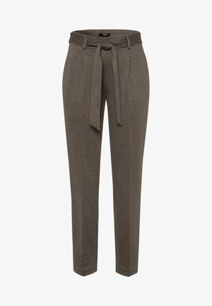 PUNTO DI ROMA  - Tracksuit bottoms - olive green melange