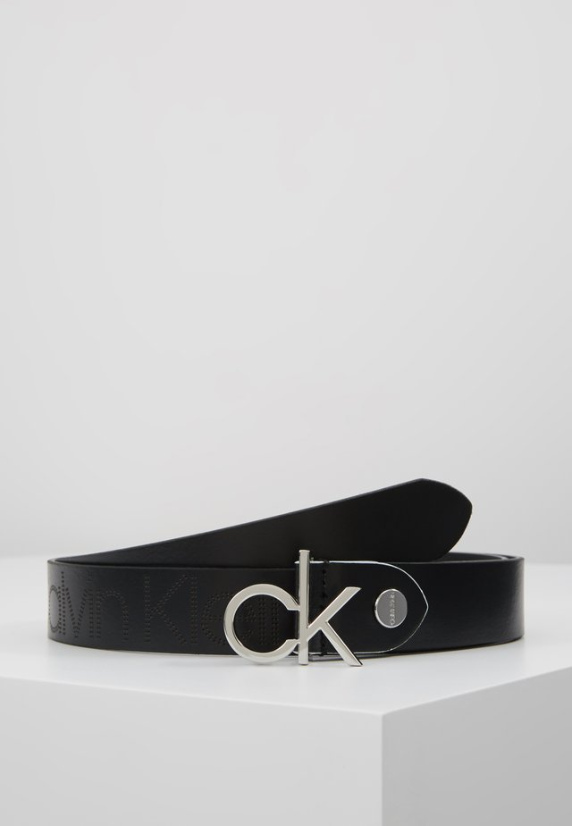 LOW BELT - Cintura - black