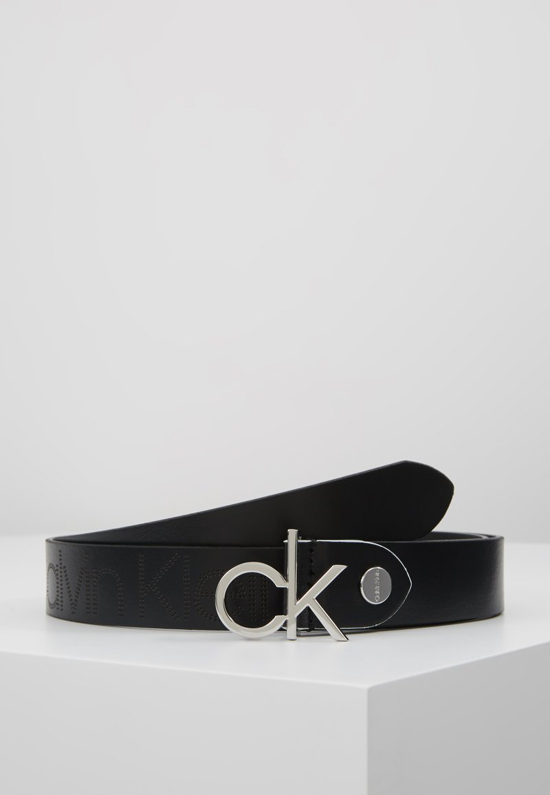 Calvin Klein - LOW BELT - Pasek - black