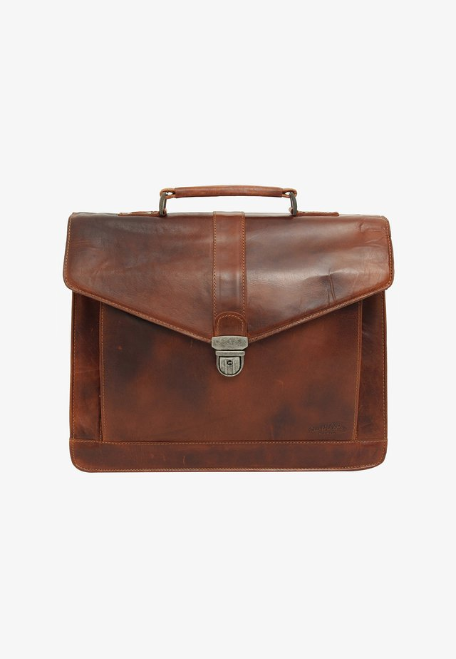 PAXTON - Briefcase - honigbraun