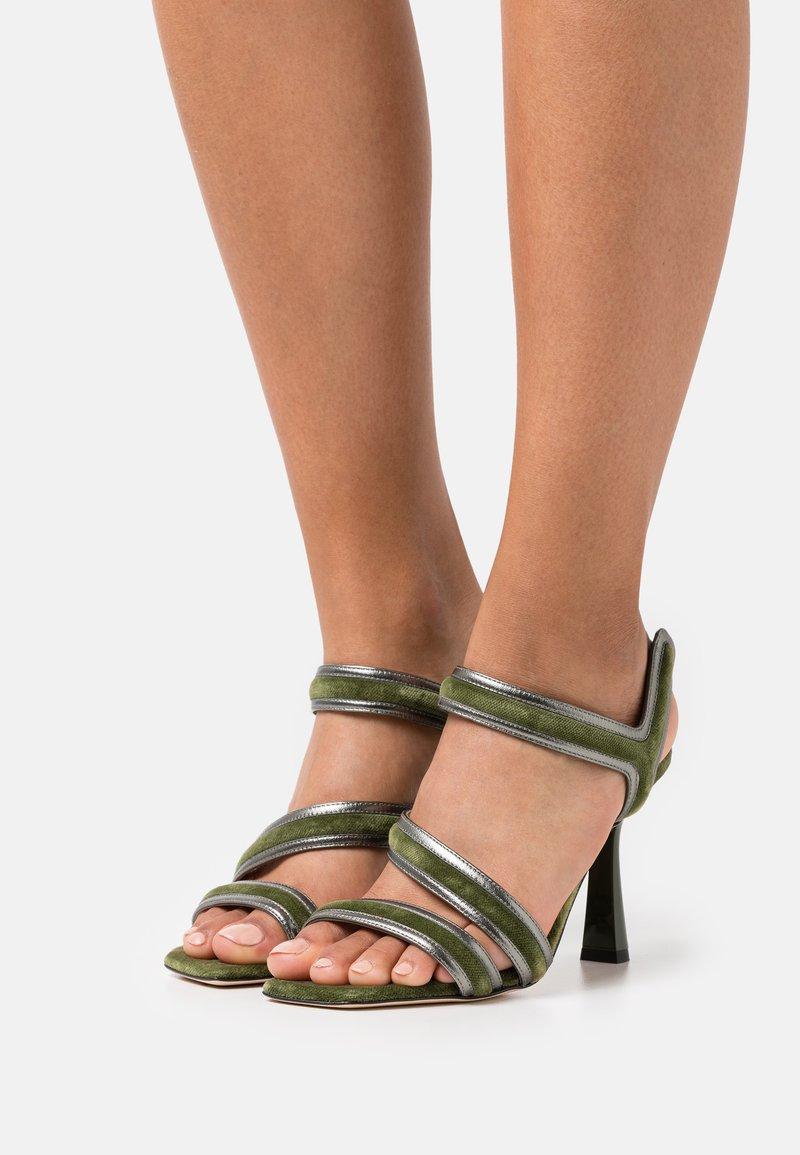 Alberta Ferretti - Sandals - green