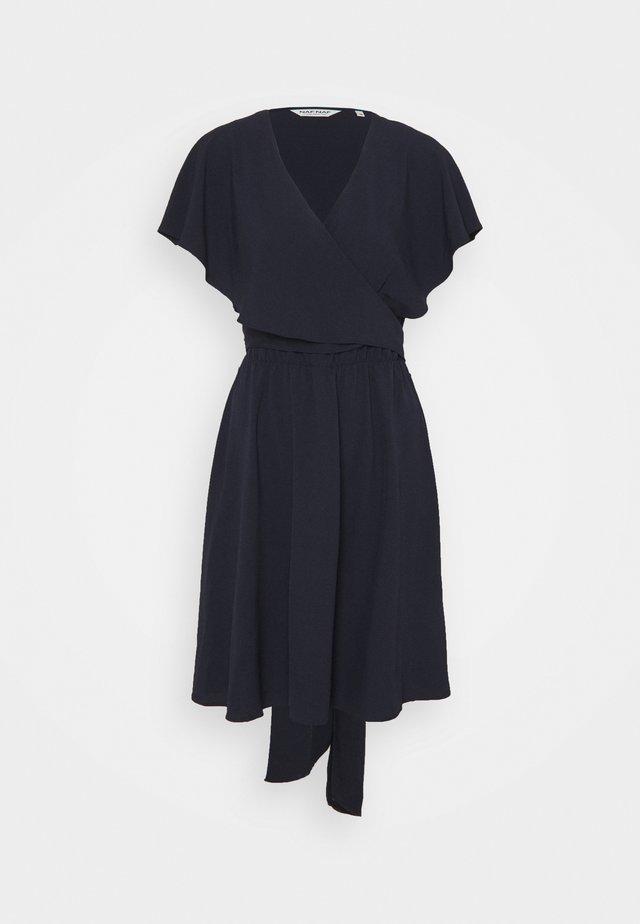 LAVOLANT - Korte jurk - bleu marine