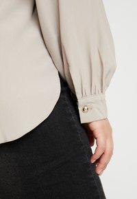 River Island Plus - Button-down blouse - mink - 5