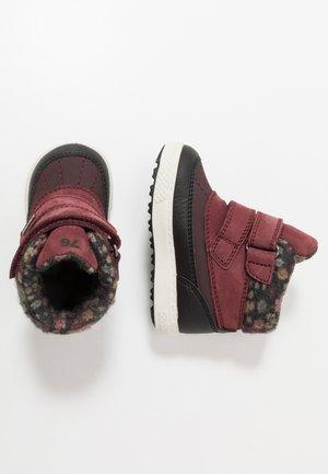 Winter boots - vino/nero/melanz