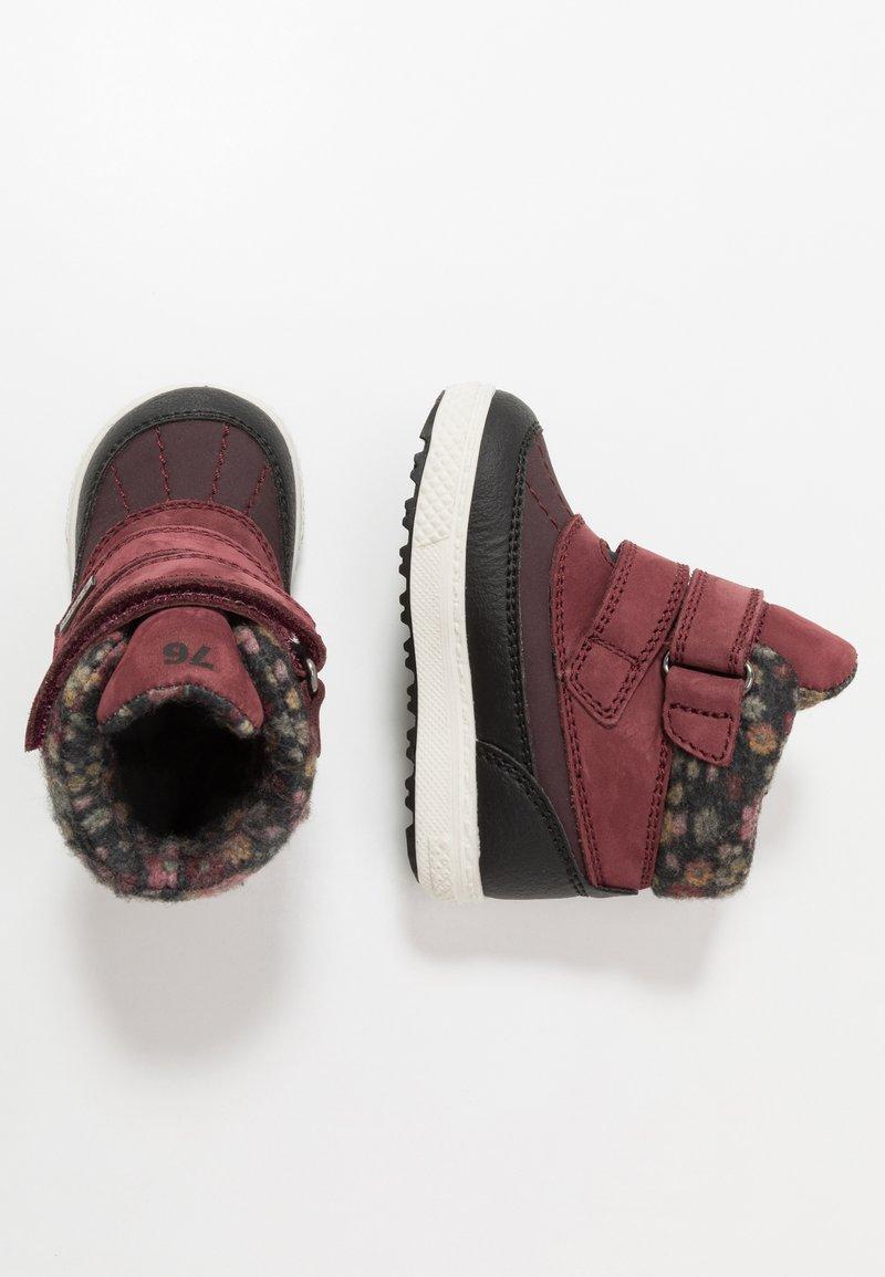Primigi - Winter boots - vino/nero/melanz