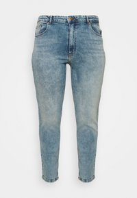 ONLY Carmakoma - CARENEDA MOM - Straight leg jeans - light blue denim - 3