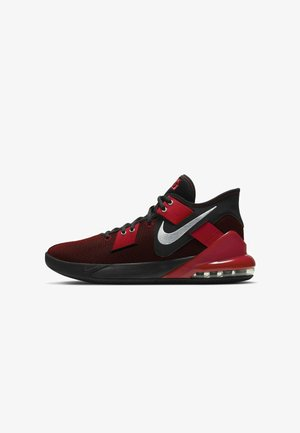 AIR MAX IMPACT 2 - Basketball shoes - black gym red metallic silver