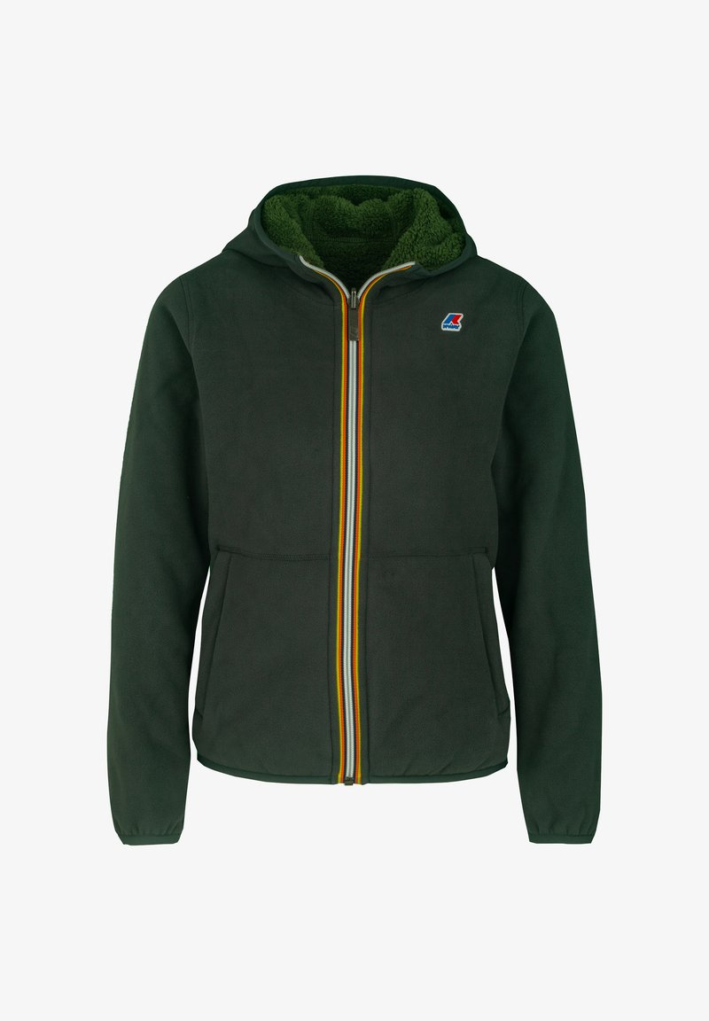 K-Way - POLAR DOUBLE - Winter jacket - green dk-green dk forest