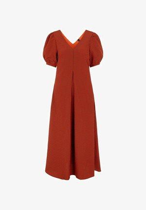 Maxi dress - bombay brown