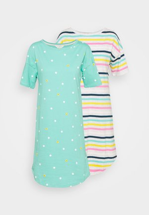 SUNDAY 2 PACK - Nightie - turquoise