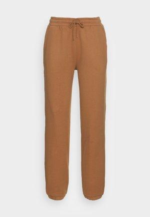 Tracksuit bottoms - soft camel