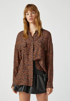 Overhemdblouse - brown