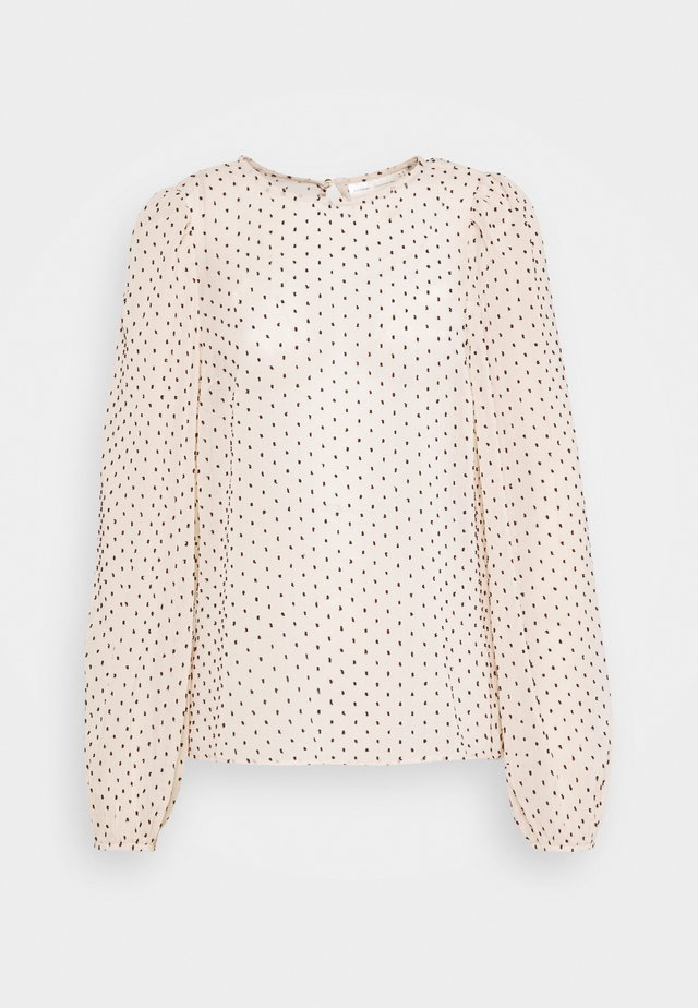 VAWA BLOUSE - Blůza - french nougat