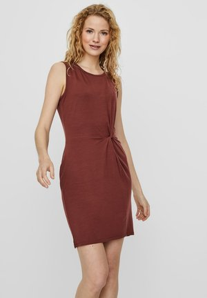 Shift dress - sable