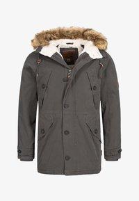 INDICODE JEANS - Winter coat - anthracite - 5