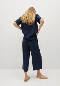 Mango - BYE - Trousers - azul marino oscuro - 2