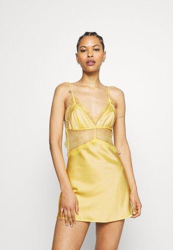 HELENA TRIANGLE SLIP DRESS - Nightie - yellow