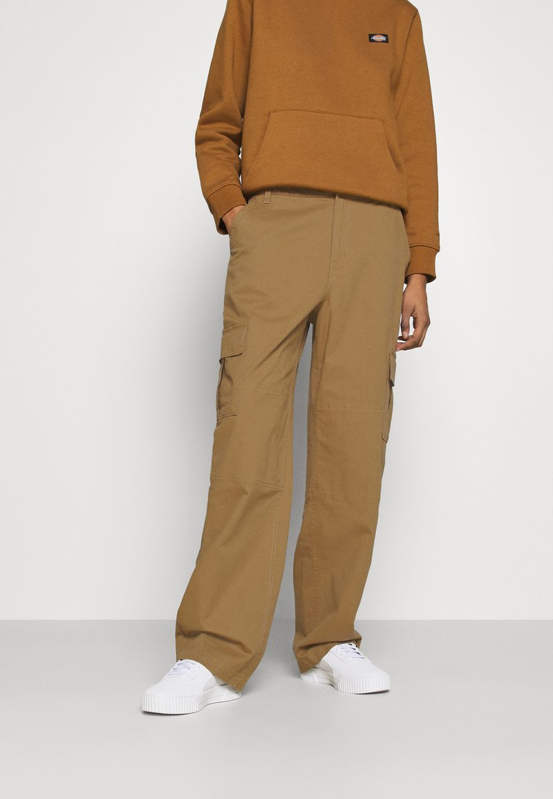 Vans - THREAD IT PANT - Trousers - dirt
