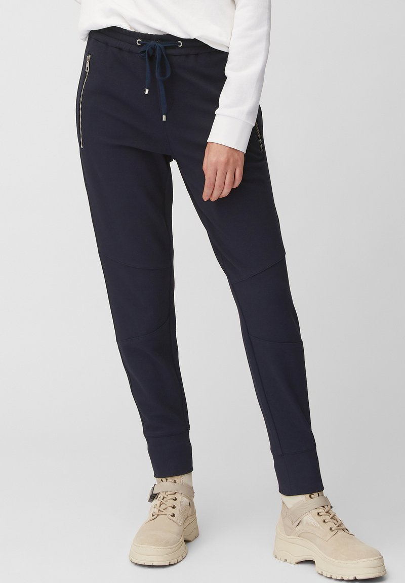 Marc O'Polo - LONTTA - Tracksuit bottoms - blue