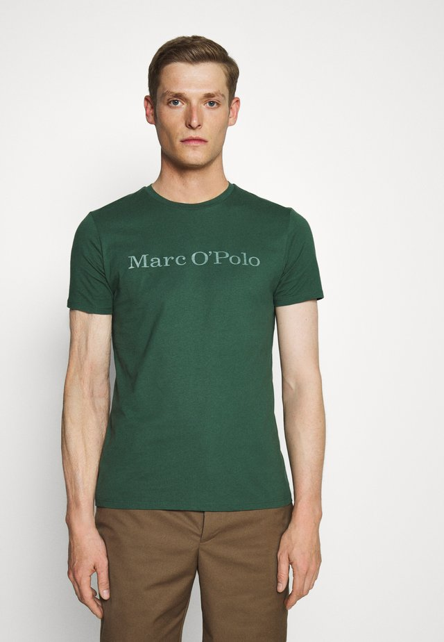 SHORT SLEEVE CREW NECK - T-Shirt print - garden topliary