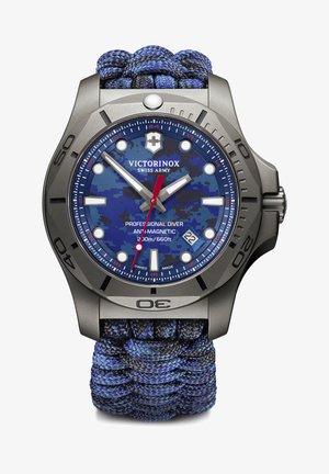 PROFESSIONAL DIVER - Watch - blue blue camo