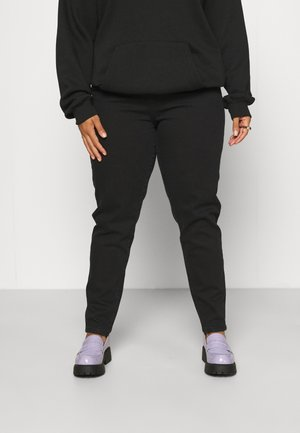 NORA - Jeans slim fit - washed black stretch
