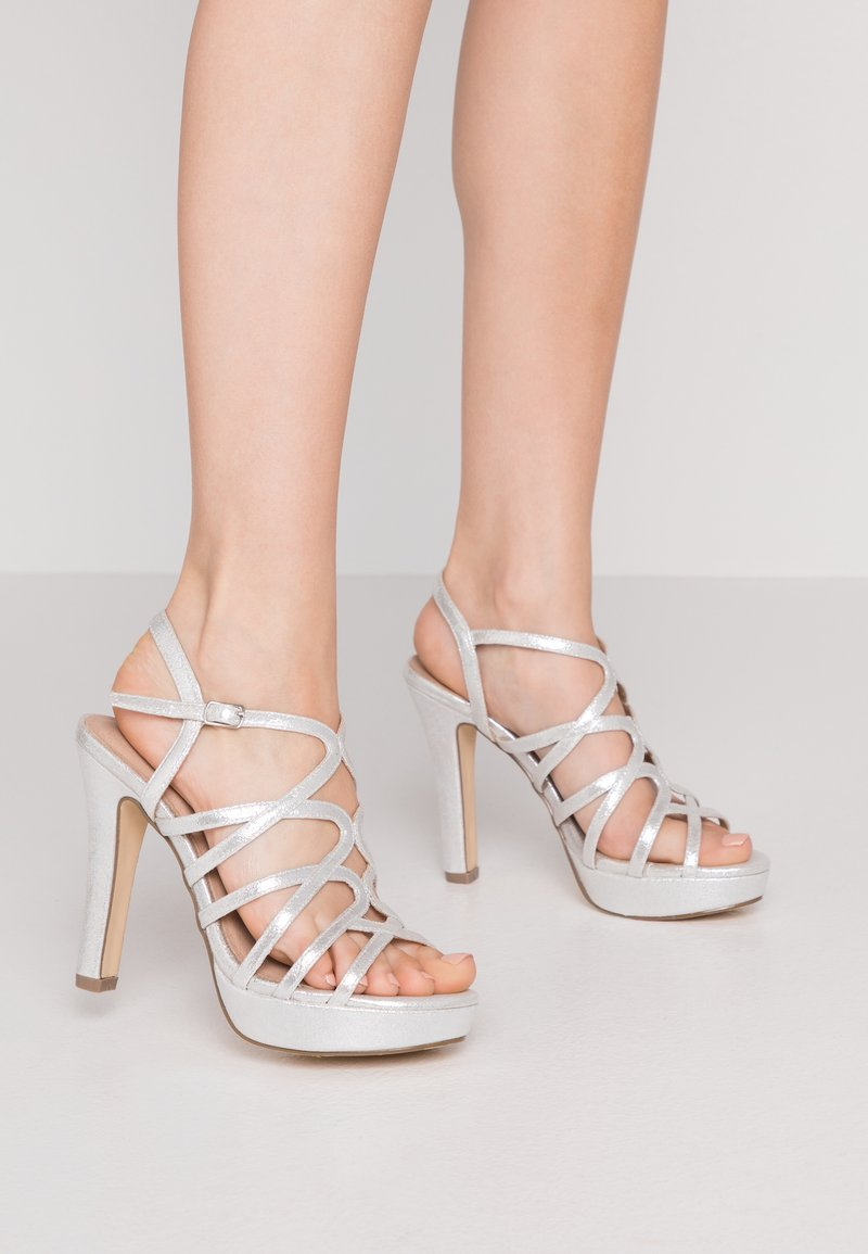 Menbur - High heeled sandals - silver