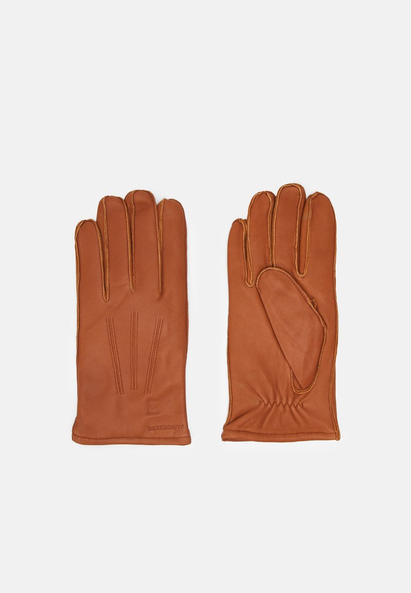 J.LINDEBERG - MILO GLOVE - Gloves - cognac