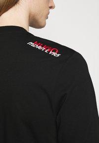 HUGO - DUNAGI - Print T-shirt - black - 3