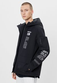 Bershka - Outdoorjacka - black - 0