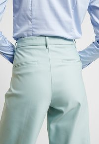 Mos Mosh - NIGHT PANT SUSTAINABLE - Trousers - mint haze - 6
