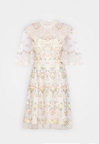 Needle & Thread - REVERIE ROSE MINI DRESS - Koktejlové šaty/ šaty na párty - champagne - 5