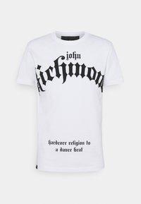 John Richmond - FONDULAC - Triko spotiskem - white - 0