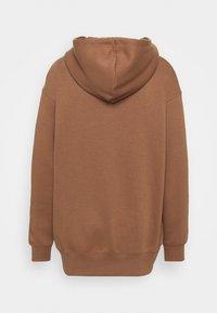 Nike Sportswear - HOODIE - Hoodie - archaeo brown/white - 1