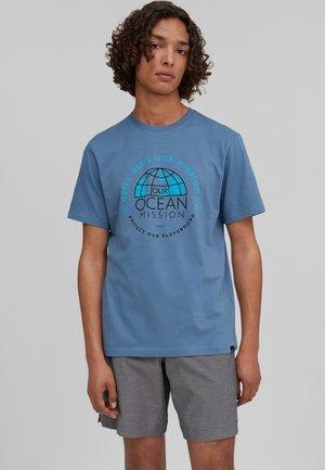 BANDA SEA - T-shirt con stampa - walton blue