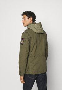 Polo Ralph Lauren - HERRINGBONE FIELD JACKET - Summer jacket - soldier olive - 2