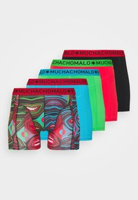 MUCHACHOMALO - SMILE 5 PACK - Boxerky - red/black/blue - 5