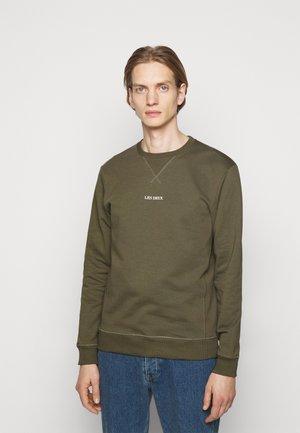 LENS - Sweatshirt - oliv