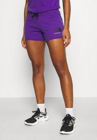 The North Face - RAINBOW SHORT - Sports shorts - peak purple - 0