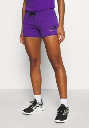RAINBOW SHORT - Pantaloncini sportivi - peak purple
