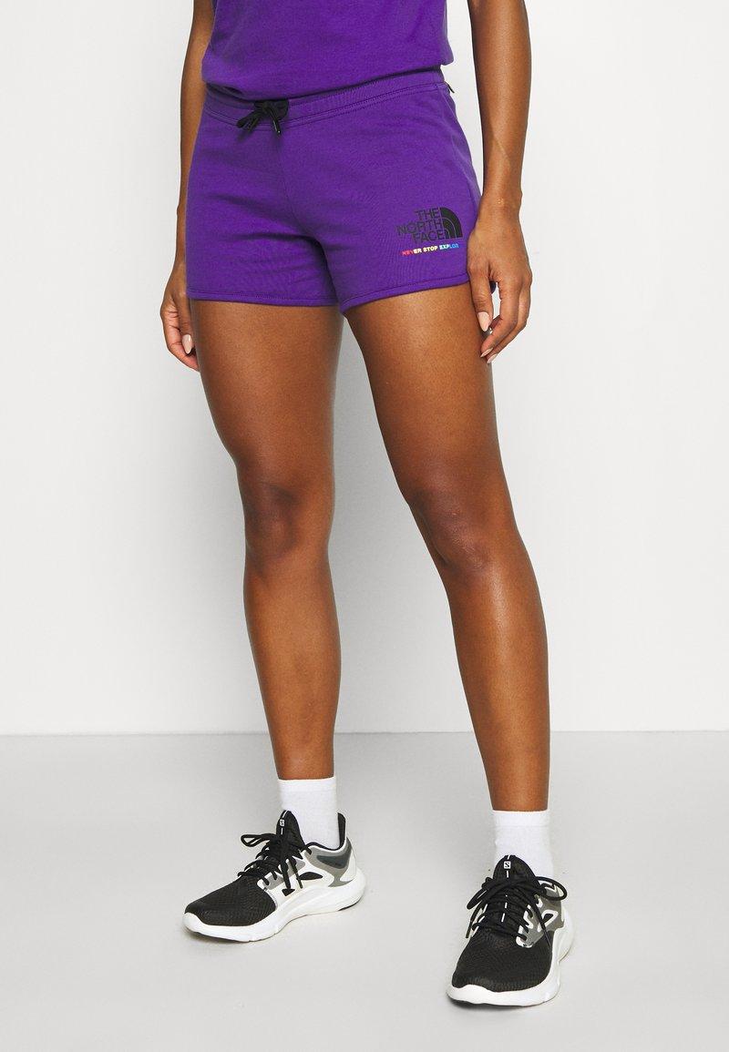 The North Face - RAINBOW SHORT - Sports shorts - peak purple