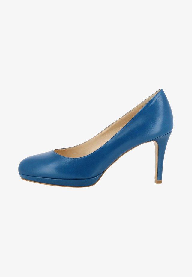 BIANCA - Højhælede pumps - blue